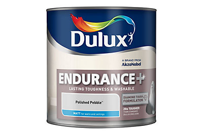 Dulux Endurance Polished Pebble Matt Emulsion Paint 2.5L
