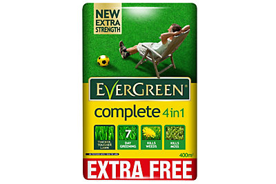 Evergreen ® Complete 4 In 1 Lawn Feed, Weed & Moss Killer 12.6kg