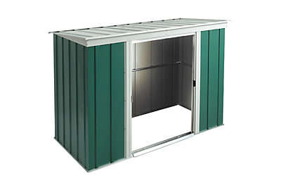 Greenvale 6X4 Pent Metal Shed - Assembly Required