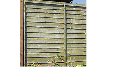 Pro Timber Overlap Fence Panel (W)1.83m (H)1.8m, Pack of 3