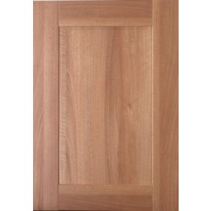 IT Kitchens Westleigh Walnut Effect Shaker Standard Door (W)500mm