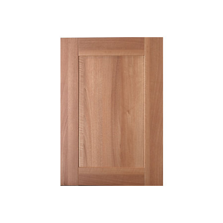 It kitchens westleigh walnut effect shaker standard door for Kitchen cabinets 500mm