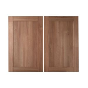 IT Kitchens Westleigh Walnut Effect Shaker Larder Door (W)600mm  Set of 2