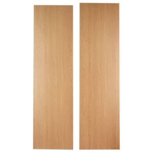 View Cooke & Lewis Oak Veneer Shaker Shaker Appliance End Panel details