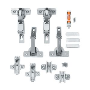 View Cooke & Lewis B Door Hinge, Set of 1 details