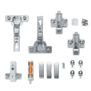View Cooke & Lewis D Door Hinge, Set of 1 details