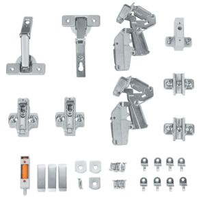 View Cooke & Lewis E Door Hinge, Set of 1 details