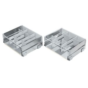 View Cooke & Lewis Lay-On Stainless Steel Effect Drawer Box details