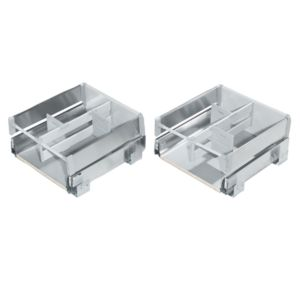 View Cooke & Lewis Inset Stainless Steel Effect Drawer Box details