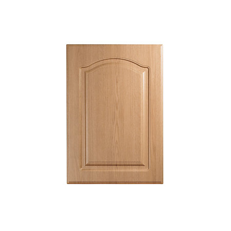 It kitchens chilton traditional oak effect standard door for Kitchen cabinets 500mm