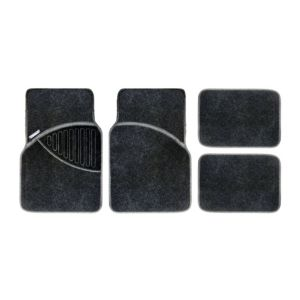 View Michelin Polypropylene Black Car Mat, Set of 4 details