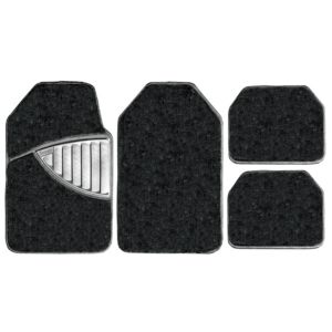 View Michelin Premium Black Car Mat, Set of 4 details