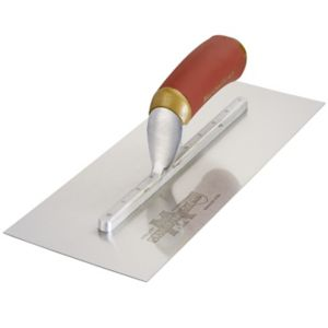 View Marshalltown Stainless Steel BQMPB13SSD Finishing Trowel (W)125mm (L)330mm details