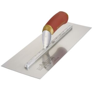 View Marshalltown Stainless Steel BQMPB14SSD Finishing Trowel (W)125mm (L)350mm details