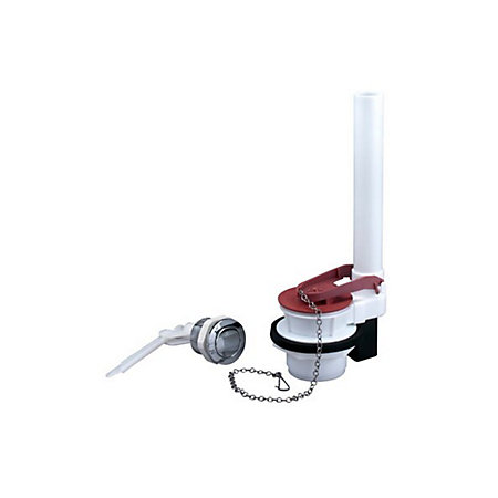 Fluidmaster Black Red White Chrome Effect Plastic Toilet Cistern Flapp