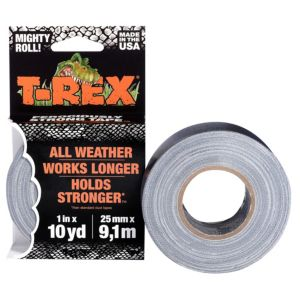 Image of T-Rex Grey Duct tape (L)9.14m (W)25mm