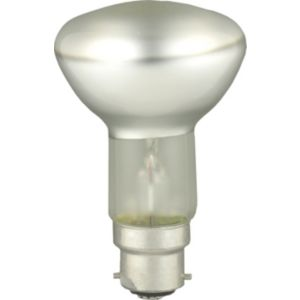 View GE Bayonet Cap (B22D) 60W Halogen R63 Spot Light Bulb, Pack of 2 details