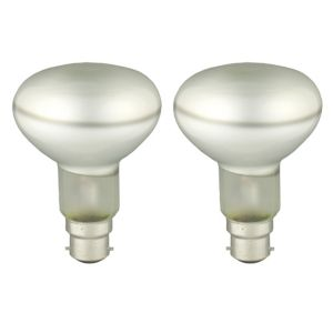 View GE Edison Screw Cap (E27) 40W Halogen R63 Spot Light Bulb, Pack of 2 details
