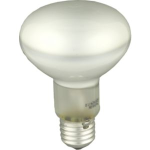 View GE Edison Screw Cap (E27) 60W Halogen R80 Spot Light Bulb, Pack of 2 details