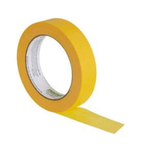 Image of Frogtape Delicate surfaces Yellow Tape (L)50m (W)24mm