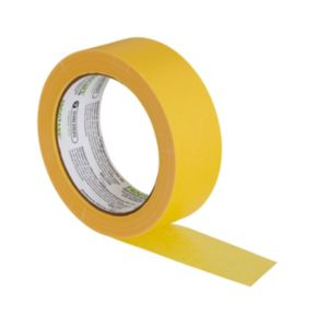 Image of Frogtape Delicate surfaces Yellow Masking tape (L)41.1m (W)36mm