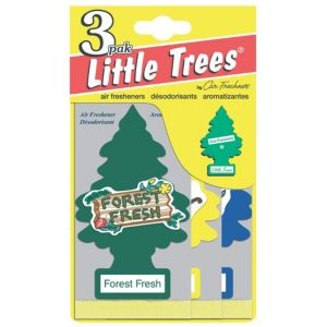 Image of Little Trees Vanilla Aroma Air Freshener Pack of 3