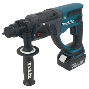 Makita LXT Cordless 18V 4Ah LiIon SDS Plus Drill 2 Batteries DHR202RMJ
