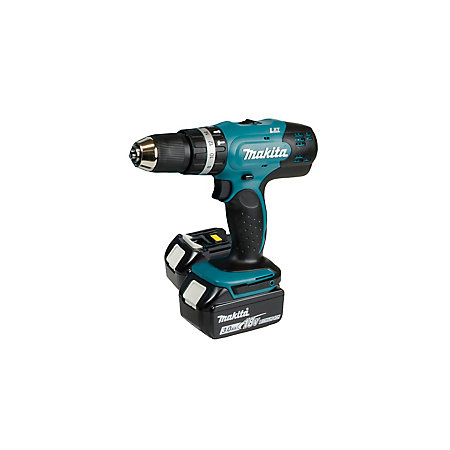 makita lxt cordless 18v 3ah li ion combi drill 2 batteries. Black Bedroom Furniture Sets. Home Design Ideas