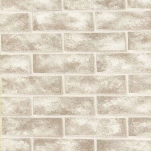 View Ceramica Cream Brick Wall Wallpaper details