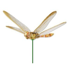 Image of Oakthrift Dragonfly Decorative Stake