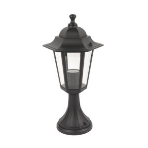 View Coach Lantern Black Post Light (H)40.9cm details