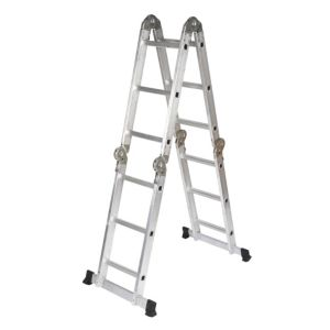 View B&Q Aluminium 2-Way Combination Ladder, (H)3.23M details