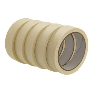 View B&Q Masking Tape (W)25mm, Pack of 5 details