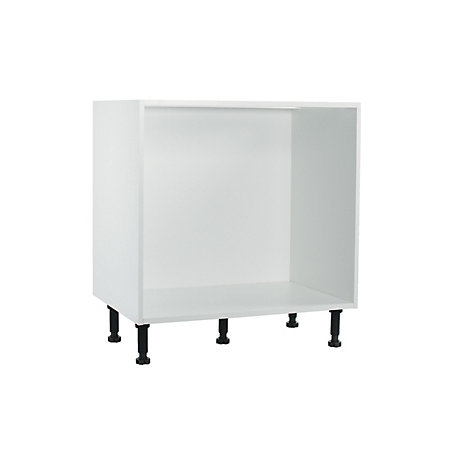 It kitchens white multi drawer base cabinet w 800mm for Kitchen cabinets 800mm