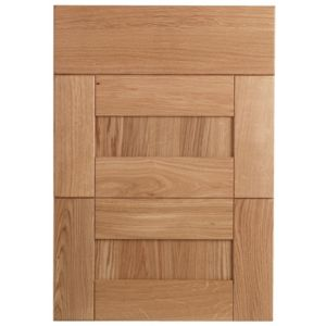 View Cooke & Lewis Chesterton Solid Oak Drawer Front (W)500mm, Set of 3 details