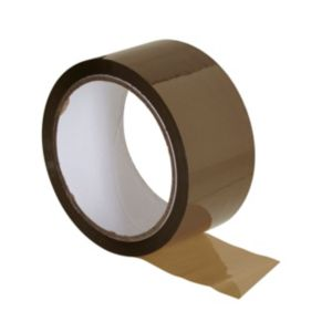 View B&Q Brown Packaging Tape (W)50mm (L)50m details