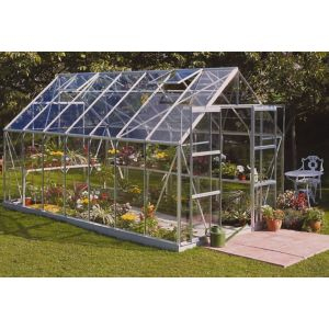 View B&Q 8X14 TSG Greenhouse details