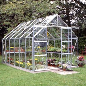 Image of B&Q 8X12 Toughened Safety Glass Greenhouse