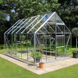 View B&Q 8X12 TSG Greenhouse details