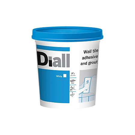 Diall Ready To Use Wall Tile Adhesive Amp Grout White 1