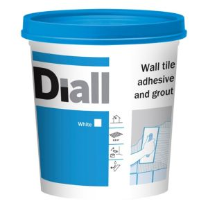 View Diall White Ready Mixed Wall Tile Adhesive & Grout 1.38 kg details