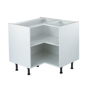 View IT Kitchens White Base Unit Carcass (W)925mm details