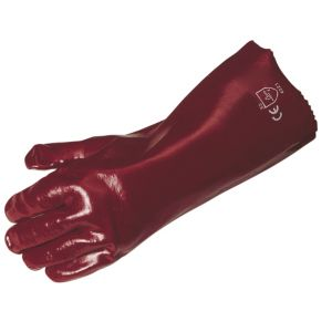 View B&Q PVC Chemical Resistant Gauntlets details