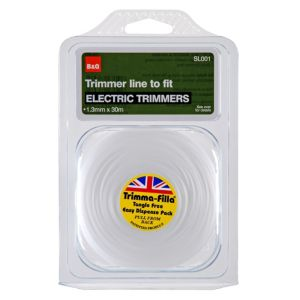 View B&Q Trimmer Line To Fit Electric Trimmers (T)1.3mm details