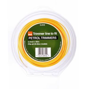 View B&Q Trimmer Line To Fit Petrol Trimmers (T)2.4mm details