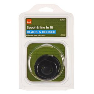 View B&Q Spool & Line To Fit Black & Decker Models (T)1.3mm details