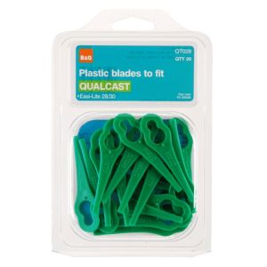 B&Q QT028 Plastic Lawnmower Blade  Pack of 20