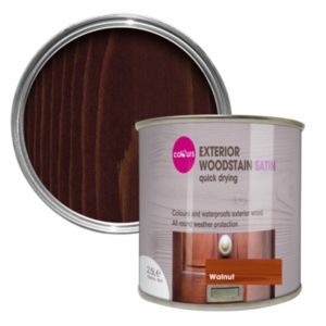 View Colours Quick Drying Walnut Woodstain 2.5L details