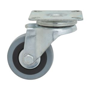 View B&Q Plate Fitting Swivel Castor details