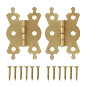 Image of B&Q Butterfly hinge (W)50mm
